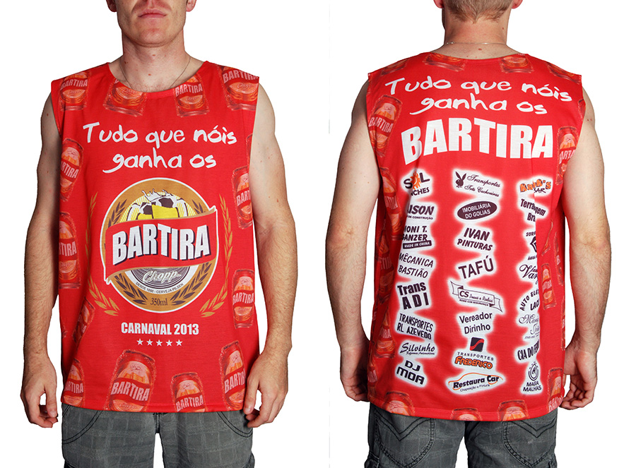 Camiseta Carnaval 2013 do bloco Bartira