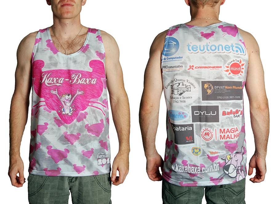 Camiseta Carnaval 2013 Kaxa-Baxa