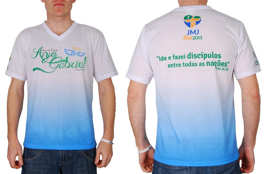Camiseta para Grupo de Oração