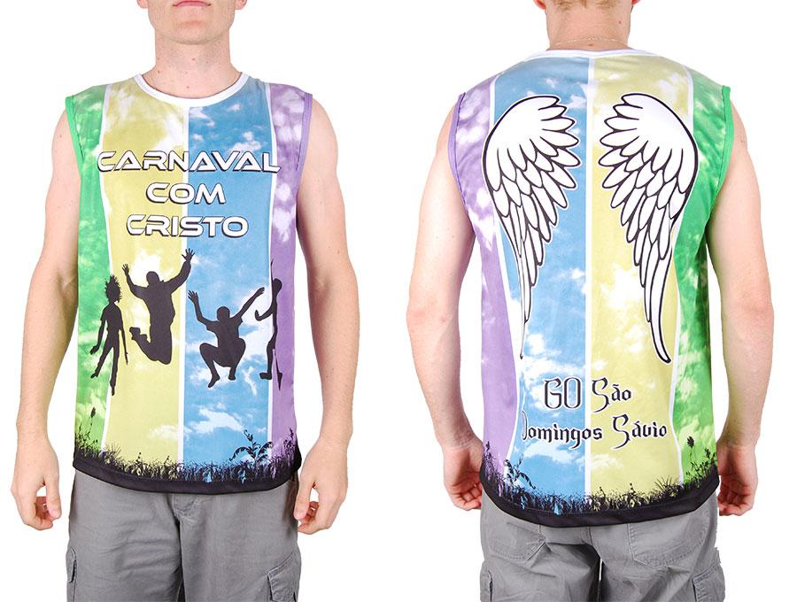 Camiseta para o Carnaval com Cristo 2014.