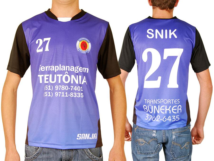 Camisetas para times de futebol em Teutônia