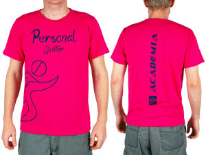 Camiseta para academia Personal Center