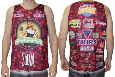 Camiseta Carnaval 2017 - Compadres da Xica Boa
