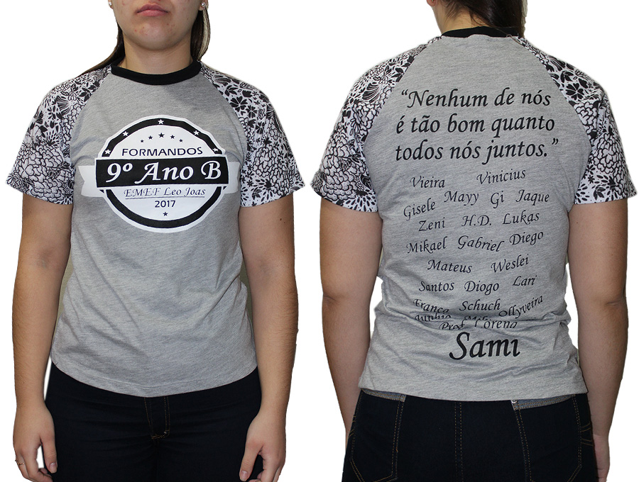 Camiseta Formandos 9 Ano