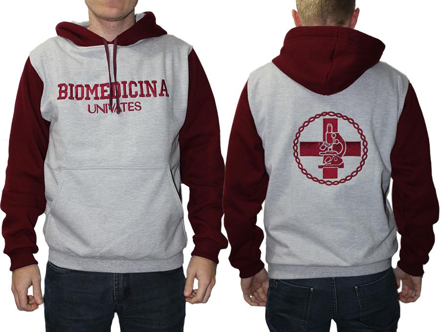 Moletom Biomedicina com capuz