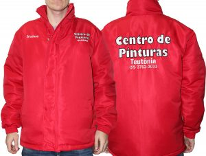 jaqueta impermeável personalizada