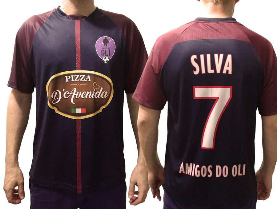 65de0220f Camisa Personalizada para time de futebol - Magia Malhas