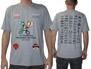 Camisetas personalizadas para eventos - Encontro de Trilheiros Teutônia 2017