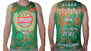Timbebeda camiseta para o carnaval 2018